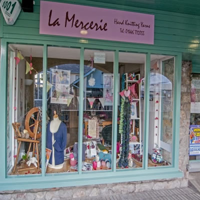 La Mercerie, Cowbridge, shop front